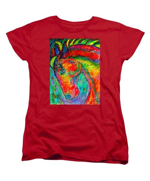 Dream Horse Women's T-Shirt (Standard Cut) by Kendall Kessler