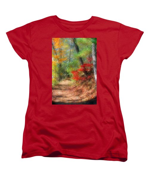 Women's T-Shirt (Standard Cut) featuring the photograph Dreaming Of Fall by Kristin Elmquist