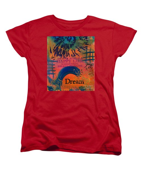 Dreams Of Joy Women's T-Shirt (Standard Cut) by Angela L Walker