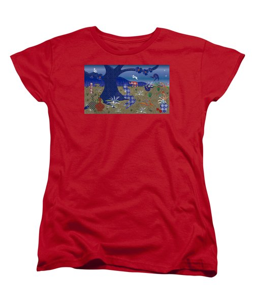 Dreamscape - Limited Edition  Of 30 Women's T-Shirt (Standard Cut) by Gabriela Delgado