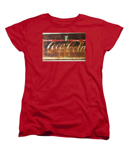 Drink Coca-cola Women's T-Shirt (Standard Cut) by Tikvah's Hope
