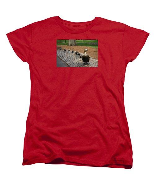 Ducklings Women's T-Shirt (Standard Cut) by Christiane Schulze Art And Photography