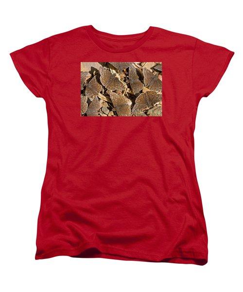 Duskywing Butterflies Women's T-Shirt (Standard Cut) by Melinda Fawver