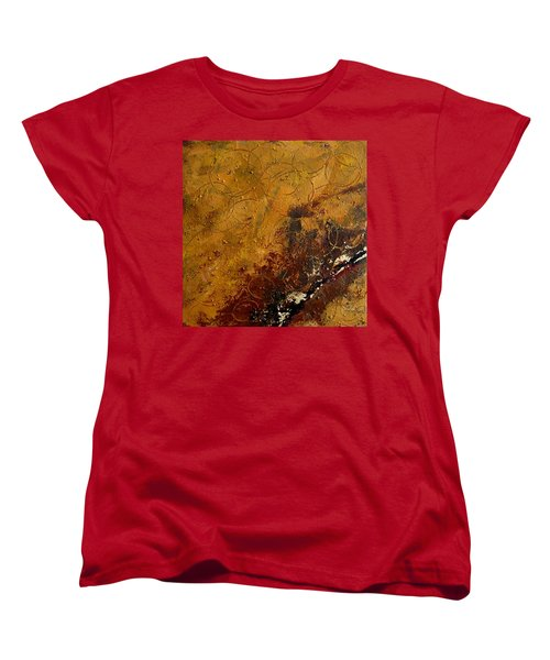 Earth Abstract Two Women's T-Shirt (Standard Cut) by Lance Headlee