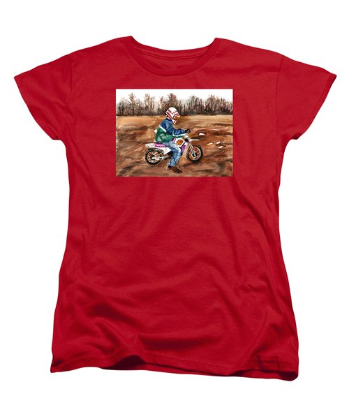 Easy Rider Women's T-Shirt (Standard Cut) by Clara Sue Beym