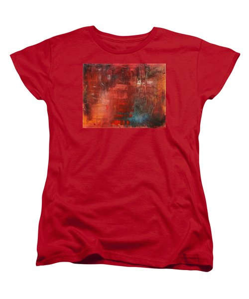 Women's T-Shirt (Standard Cut) featuring the painting Egotistical Bypass by Jason Williamson