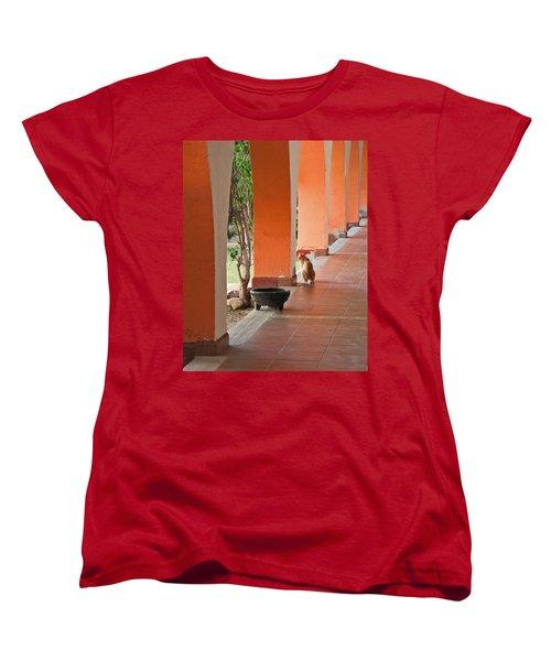 Women's T-Shirt (Standard Cut) featuring the photograph El Gato by Marcia Socolik