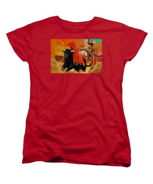 El Matador Women's T-Shirt (Standard Cut) by Corporate Art Task Force