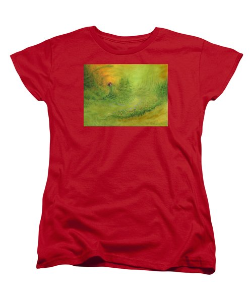Emerence Women's T-Shirt (Standard Cut) by Mark Minier