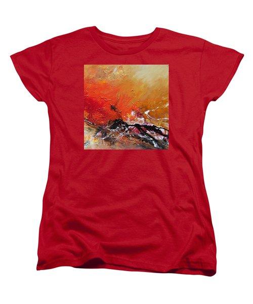 Emotion 2 Women's T-Shirt (Standard Cut) by Ismeta Gruenwald