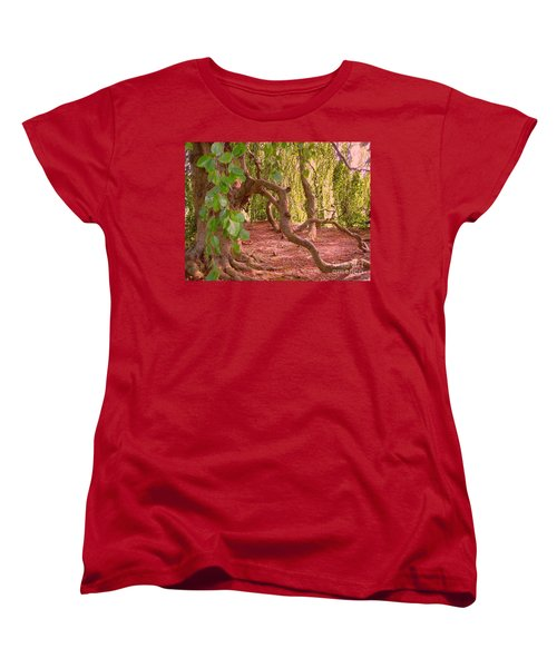 Women's T-Shirt (Standard Cut) featuring the photograph Enchanted by Becky Lupe