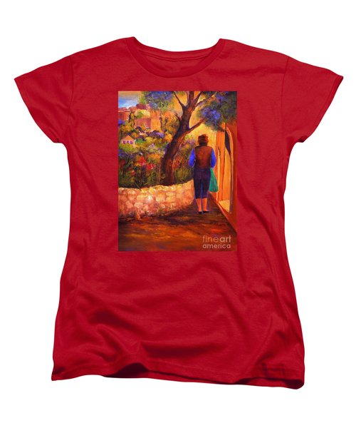 End Of The Day Women's T-Shirt (Standard Cut) by Glory Wood