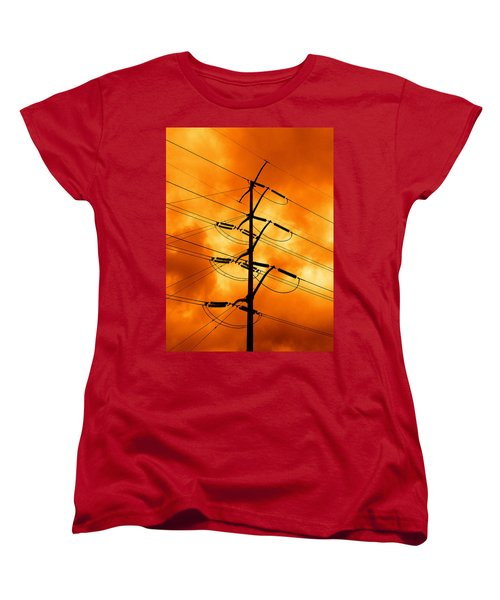 Energized Women's T-Shirt (Standard Cut) by Don Spenner