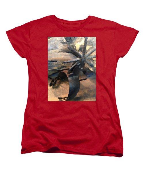 Equestrian Discipline Women's T-Shirt (Standard Cut) by Julio Lopez