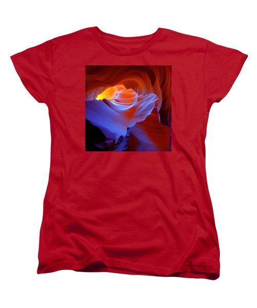 Evanescent Light Women's T-Shirt (Standard Cut) by Dustin  LeFevre