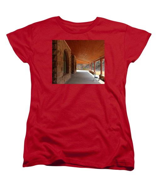 Evans Porch Women's T-Shirt (Standard Cut) by Bill Gabbert