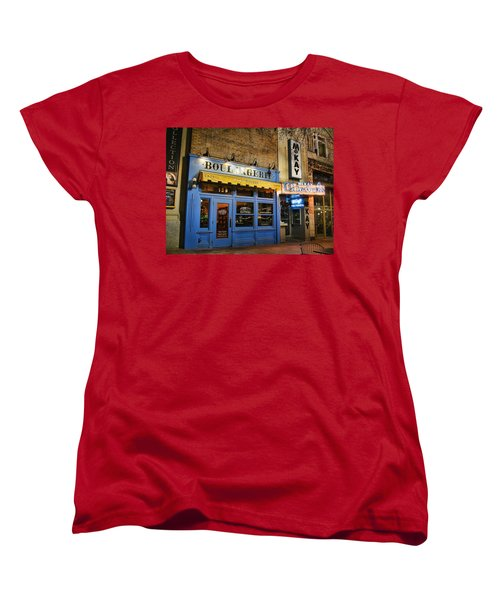 Women's T-Shirt (Standard Cut) featuring the photograph Eva's Bakery  by Ely Arsha