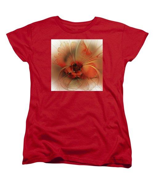 Evening Queen Women's T-Shirt (Standard Cut) by Karin Kuhlmann