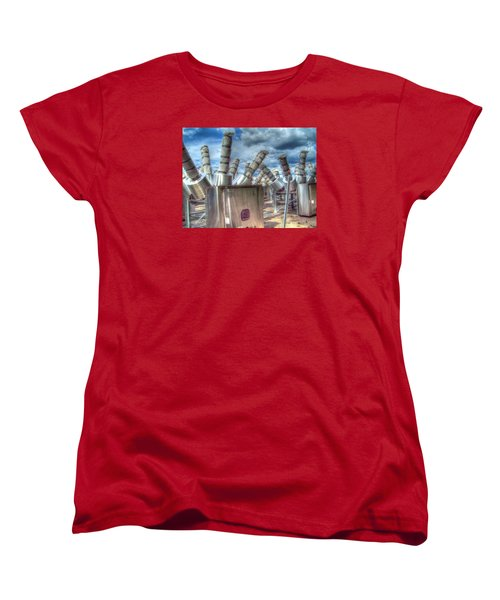 Women's T-Shirt (Standard Cut) featuring the photograph Exterminate - Exterminate by MJ Olsen