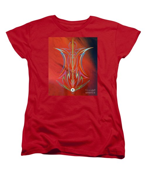 Eye Flying Women's T-Shirt (Standard Cut) by Alan Johnson