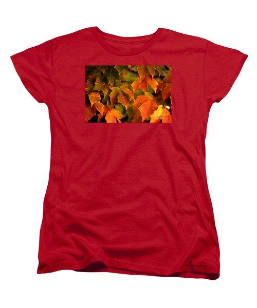 Fall Color Women's T-Shirt (Standard Cut)