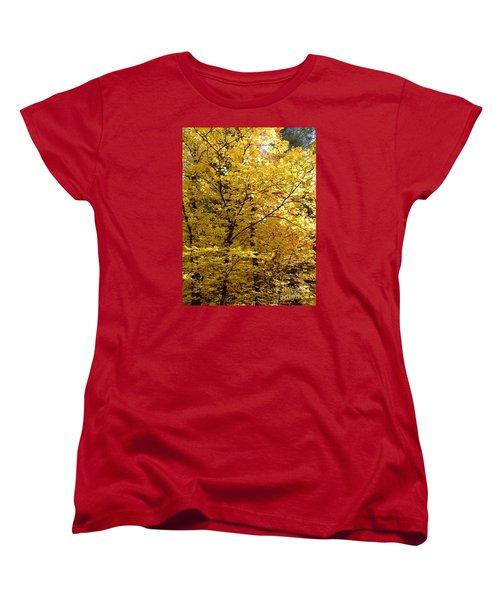 Fall Colors 6371 Women's T-Shirt (Standard Cut) by En-Chuen Soo