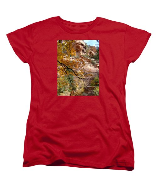 Fall Colors 6497 Women's T-Shirt (Standard Cut) by En-Chuen Soo