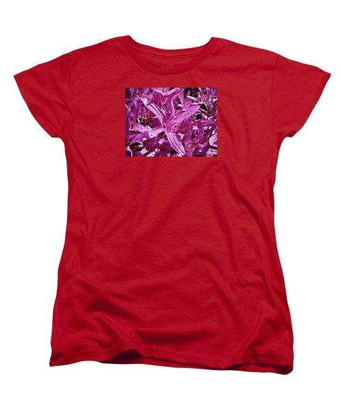 Fall Crocus Women's T-Shirt (Standard Cut) by Nick Kloepping