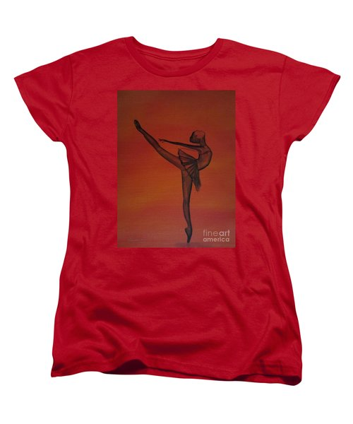 Fall Dancer 1 Women's T-Shirt (Standard Cut) by Laurianna Taylor