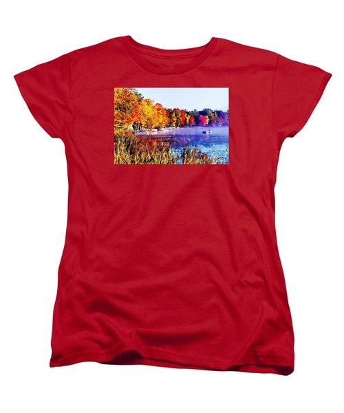 Fall Splendor Of Mid-michigan Women's T-Shirt (Standard Cut) by Daniel Thompson