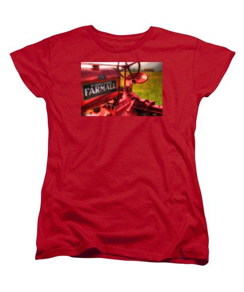 Farmall Morning Women's T-Shirt (Standard Cut) by Michael Eingle