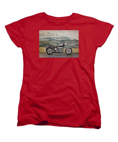 Fatboy Women's T-Shirt (Standard Cut) by Rachel Hames