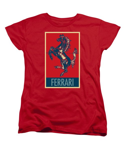 Ferrari Stallion In Hope Women's T-Shirt (Standard Cut)