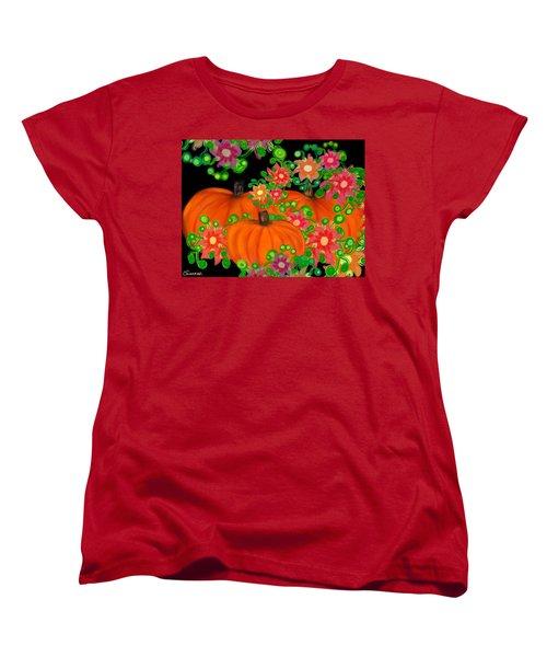 Fiesta Pumpkins Women's T-Shirt (Standard Cut)