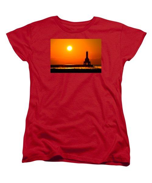 Fire Sky Women's T-Shirt (Standard Cut) by James  Meyer