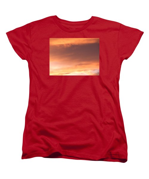 Fire Skyline Women's T-Shirt (Standard Cut) by Joseph Baril