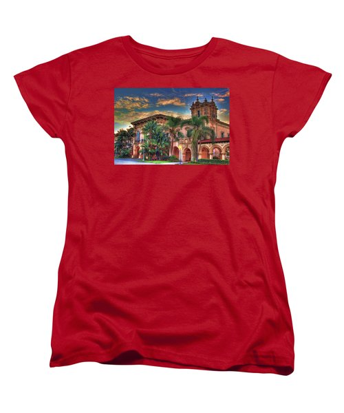 Women's T-Shirt (Standard Cut) featuring the photograph First Morning Glow by Gary Holmes