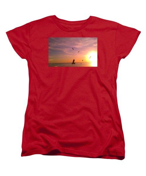 Flight Into The Light Women's T-Shirt (Standard Cut)