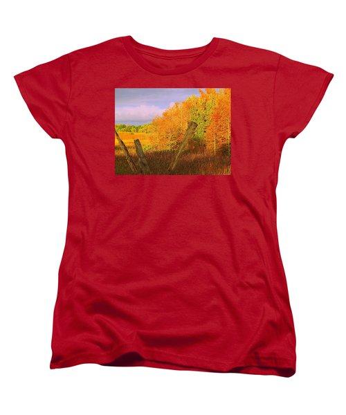 Women's T-Shirt (Standard Cut) featuring the photograph Florida Wetlands  by David Mckinney