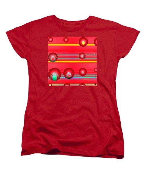 Flotation Devices - Lipstick Women's T-Shirt (Standard Cut) by Wendy J St Christopher