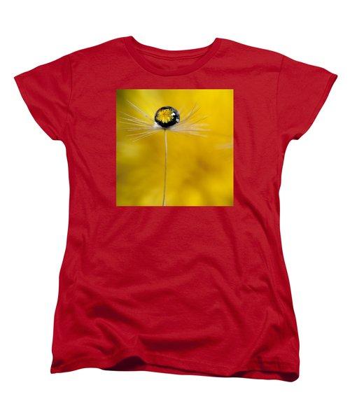 Flower And Seed Women's T-Shirt (Standard Cut) by Aaron Aldrich