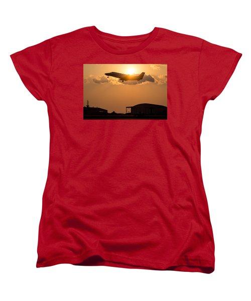 Flying Home Women's T-Shirt (Standard Cut) by Paul Job
