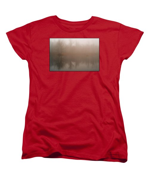 Foggy Reflection Women's T-Shirt (Standard Cut)