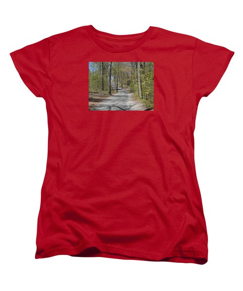 Fork In The Road Women's T-Shirt (Standard Cut) by Catherine Gagne