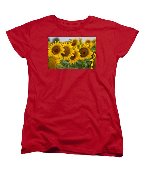 Women's T-Shirt (Standard Cut) featuring the photograph Four by Ronda Kimbrow