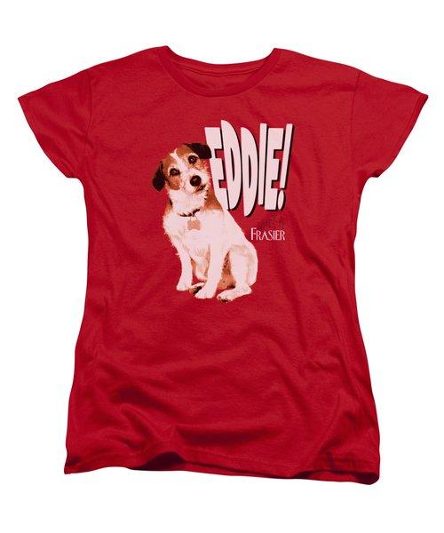 Frasier - Eddie Women's T-Shirt (Standard Cut) by Brand A