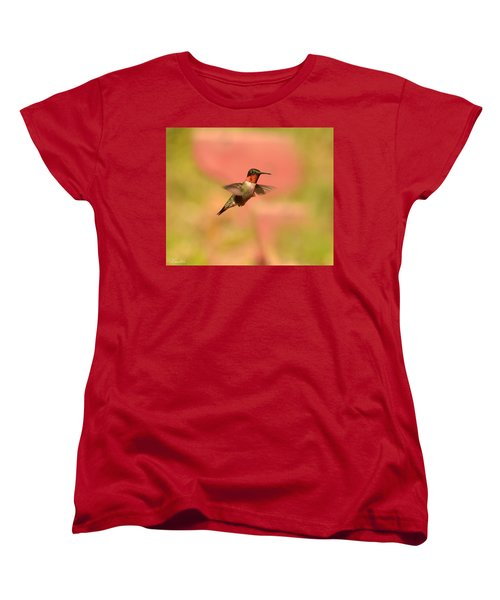 Free As A Bird Women's T-Shirt (Standard Cut) by Lori Tambakis