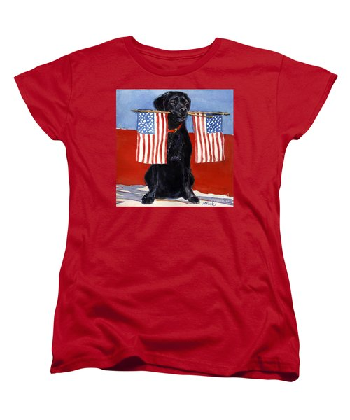 Free To Be Women's T-Shirt (Standard Cut) by Molly Poole