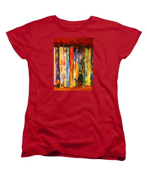 Free Your Mind Women's T-Shirt (Standard Cut) by Claudia Ellis