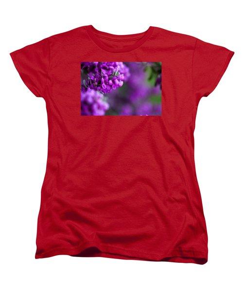 Full Bloom Women's T-Shirt (Standard Cut) by Mark Alder